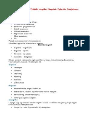 pyelonephritis és rossz lehelet