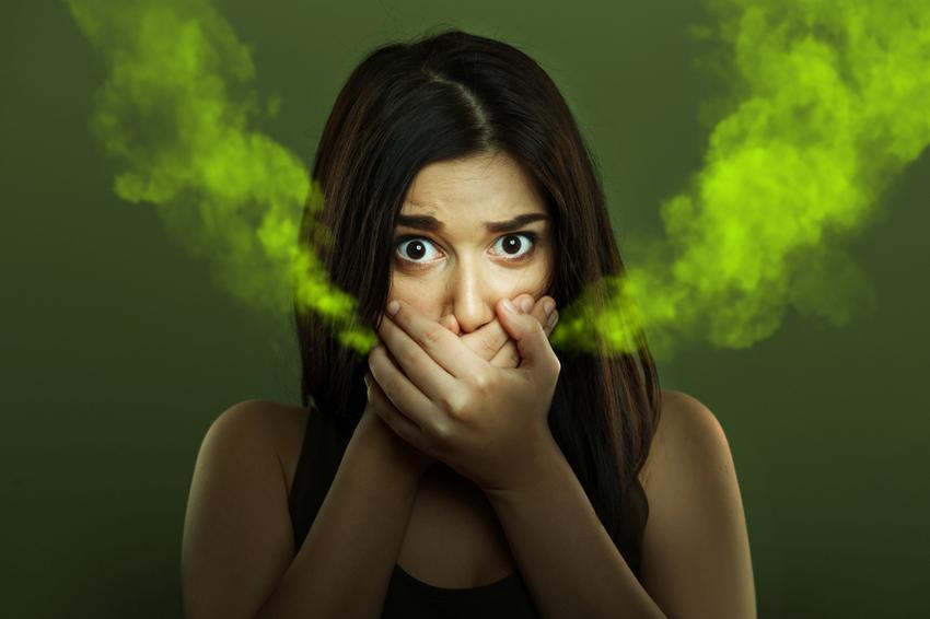 szájszag betegség esetén