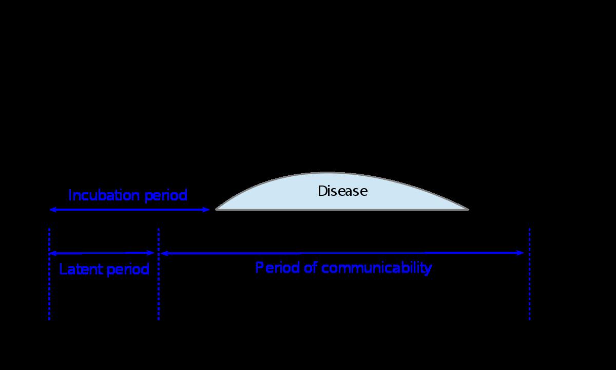 Giardiasis inkubációs periódus,